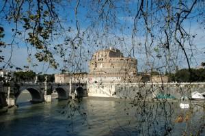 Tra i rami Castel Sant'Angelo