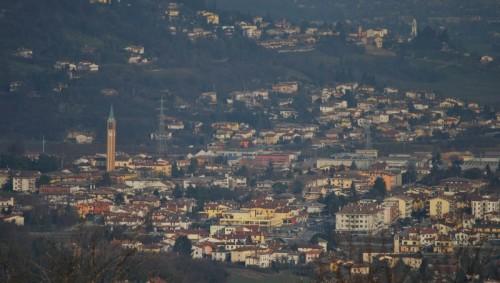 Sovizzo - Panorama di Sovizzo Centro - Visto dal Castello della Villa (Romeo)