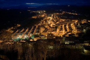 Troina by night