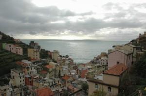 Il cielo si apre a Riomaggiore