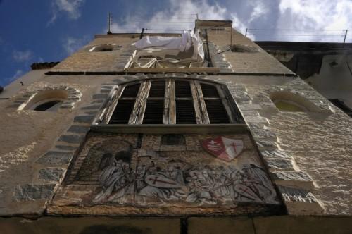Seborga - Bucato al castello del Principato