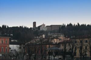 Panorama su  San Miniato….