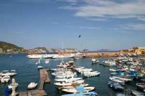 Tramonto al porto di Anzio