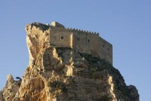 Castello Mussomeli altra prospettiva