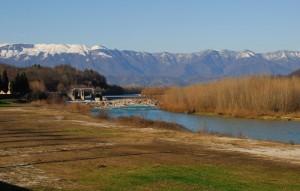 Panorama sul Piave