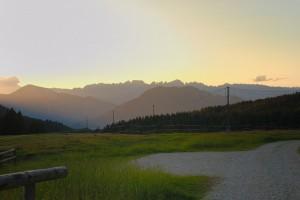 Le Dolomiti da Passo Vezzena