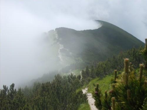 Chieti - Nebbia sulla Majella