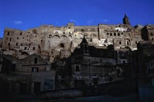 Prime luci dell'alba a Matera
