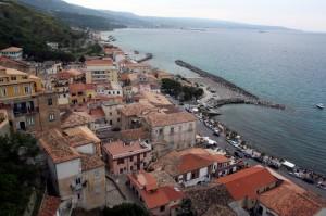 Pizzo, terrazza sul mare