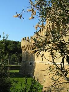 i bastioni del castello di Giulio secondo
