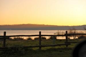 il lago di vico e il niente