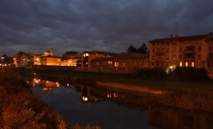 Parma by night!