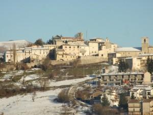 monteleone spruzzata di neve