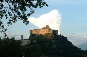 Castello con nuvola