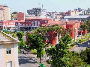 Il centro storico di Latina