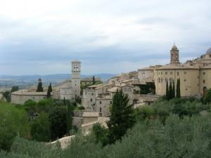 i tetti di Assisi