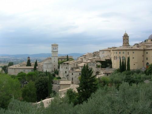Assisi - i tetti di Assisi