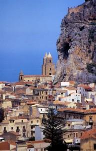 Veduta con Cattedrale e Rocca