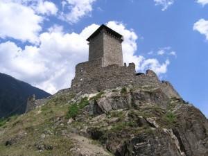 Ossana. Il castello di San Michele