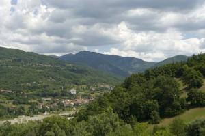 Cabella Ligure, panorama.