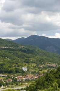 Panorama di Cabella Ligure.