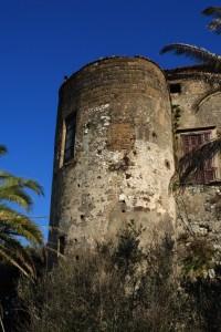 Una torre del castello di Caiazzo