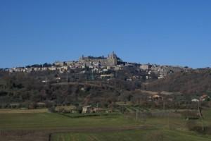 Vista di Montefiascone.