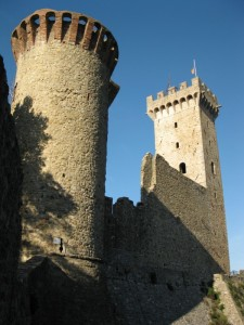 le torri di Castelnuovo Magra