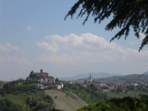 Panorama da San Damiano al Colle