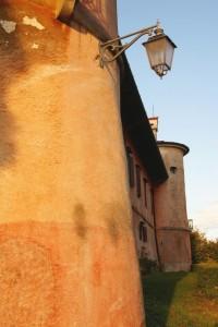 vista laterale della Rocca Bernarda