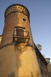 ll sole sulla Rocca Bernarda