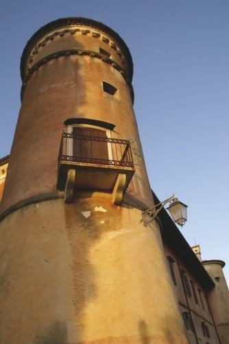 Premariacco - ll sole sulla Rocca Bernarda