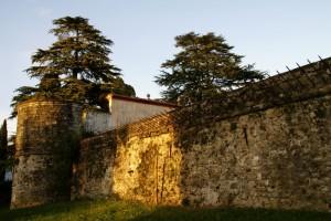 parte antica della fortificazione della Rocca Bernarda