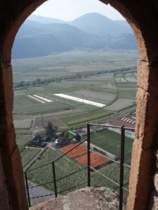 Vista dal castel Maultasch