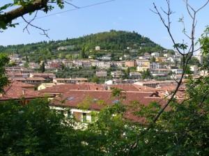 Vista di Cavaion Veronese dal Monte S.Michele
