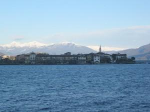 Panorama dell'isola dei pescatori