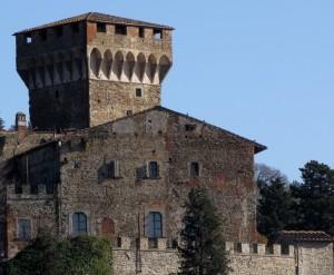 Subbiano - veduta del Castelnuovo