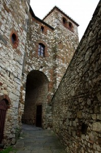 La porta fortificata di Radda