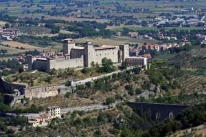 Spoleto - La Rocca e il Ponte delle Torri