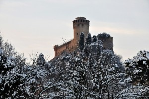 Brisighella - Racca sotto la neve