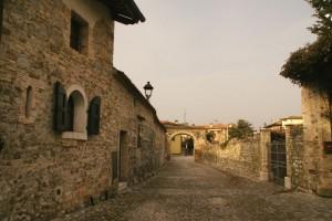 entrata ai castelli di Strassoldo-parte della fortificazione