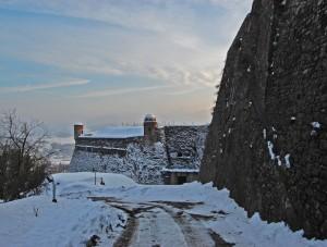 Gavi,le mura del forte
