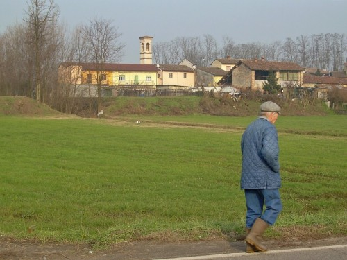 Bagnolo Cremasco - Si torna a casa dopo una dura giornata in campagna