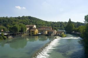 Borghetto, frazione di Valeggio sul Mincio.