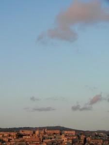 un tramonto…