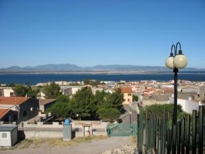 Sant'Antioco. Panorama della città.
