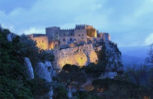Castello di Caccamo - tramonto invernale