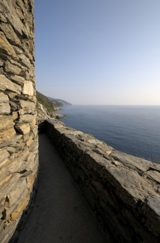 Vernazza - Intorno alla Torre Doria