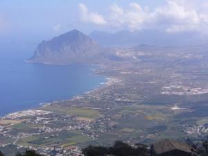 Vista su Monte Cofano
