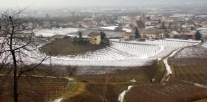 Egna-nebbia e neve